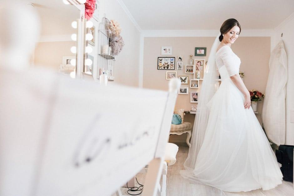 Brautstyling und Make Up Hochzeit