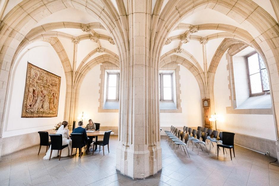 Hochzeit Rentkammer altes Rathaus Köln