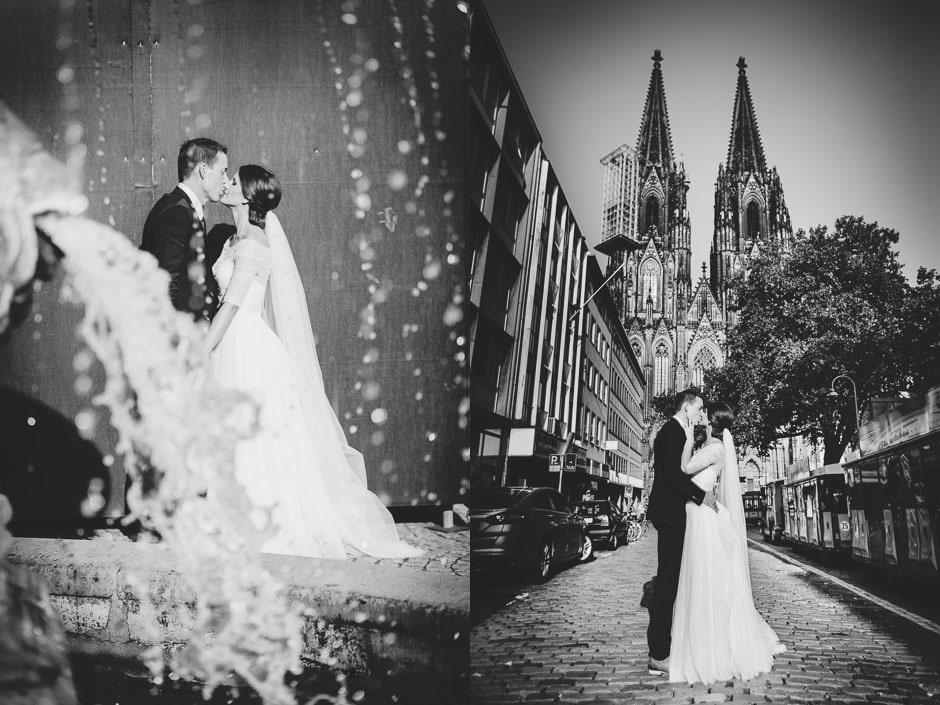 Hochzeitsfotos Kölner Dom