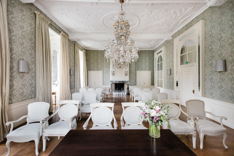 Spiegelsaal Standesamtliche Trauung Hünxe Schloss Gartrop