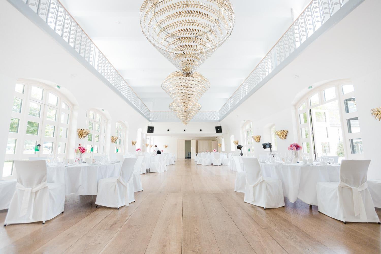 Schloss Gartrop Galeriesaal Hochzeitslocation Hünxe NRW