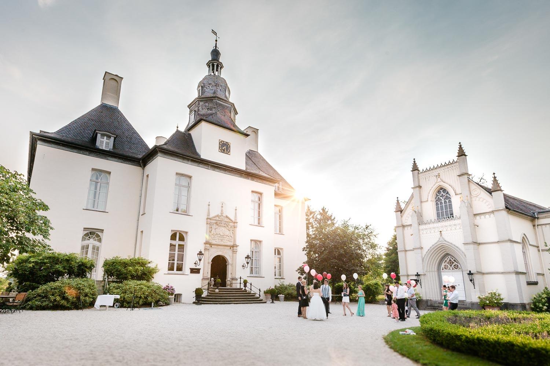 Hochzeit Schloss Gartrop Hünxe NRW