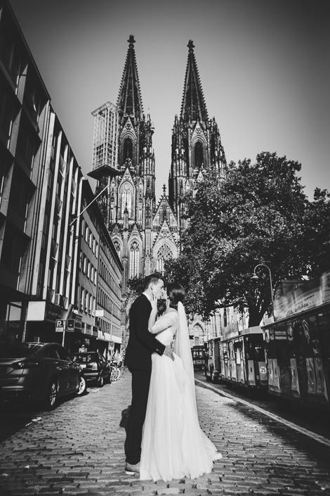 Hochzeitsfotograf Köln Dom